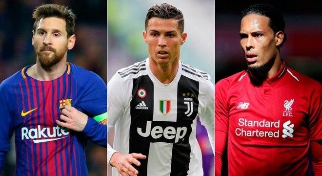 Trio foi protagonista também no prêmio The Best, da Fifa
