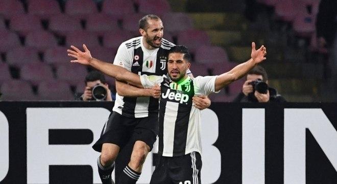 Can foi um dos autores dos gols da Juventus neste domingo