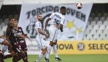 Santos não segura vantagem, e empata pela 2º vez no Paulistão