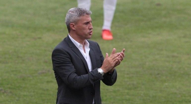 Crespo ficou satisfeito com a atuação com São Paulo contra a Inter de Limeira