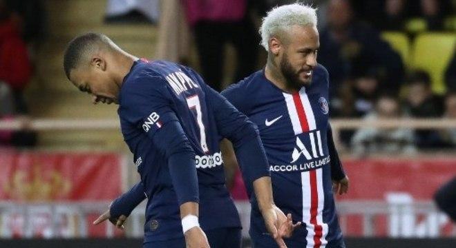 Francês Mbappé deve alcançar Neymar nos vencimentos pagos pelo PSG