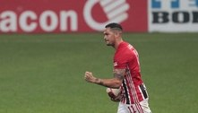 Luciano voltou a marcar pelo São Paulo após sete partidas em branco