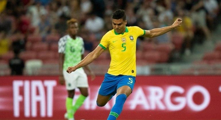 Casemiro é um dos jogadores mais experientes da seleção brasileira