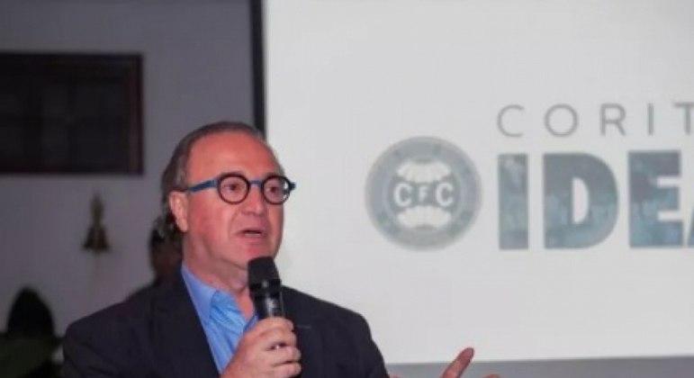 Renato Follador pretendia reestruturar o Coritiba, atualmente na Série B