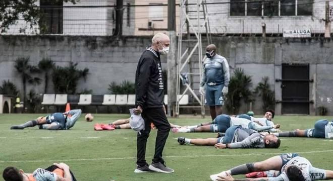 Peixe iniciará preparação para a disputa do Campeonato Brasileiro
