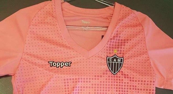 602d67545e Atlético-MG lança camisa em homenagem ao Outubro Rosa - Esportes ...