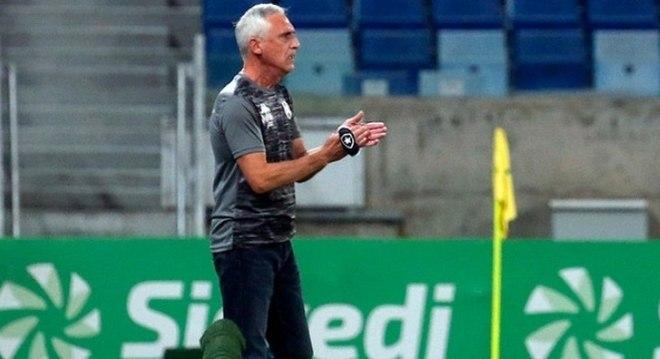 Botafogo não conseguiu marcar gol no Cuiabá nas oitavas de final