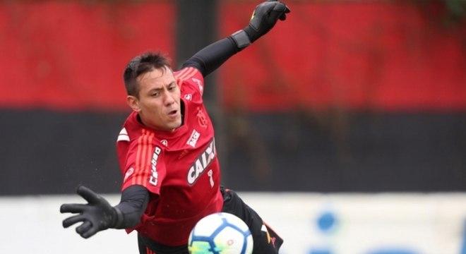 Diego Alves confirmou que permanece no Flamengo em 2019