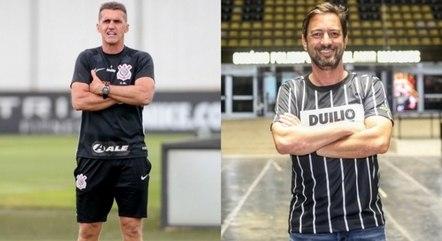 Mancini, em campo, e Duílio, fora, tocarão Corinthians