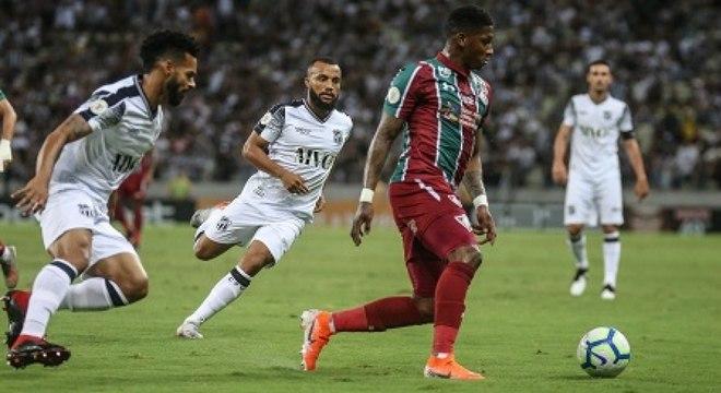 Yony González destacou-se com a camisa do Fluminense na última temporada