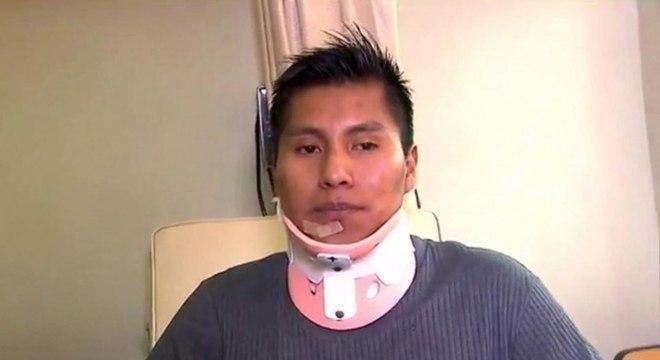 Erwin Tumiri, sobrevivente da tragédia da Chape, saiu vivo de mais um acidente