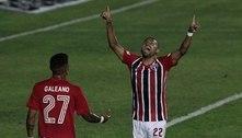 Presidente do São Paulo publica foto com Rojas e elogia o retorno do ponta