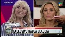 Ex-mulheres de Maradona discutem ao vivo em programa argentino
