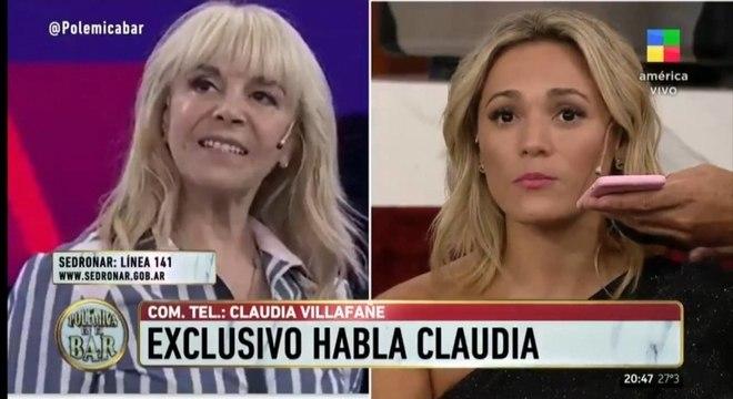 Ex-companheiras de Maradona discutem ao vivo em programa de TV argentino
