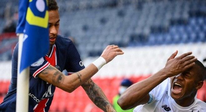 Imprensa francesa detona Neymar após expulsão contra o Lille