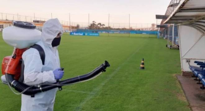 Grêmio retoma as atividades a partir desta terça-feira