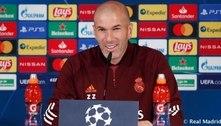 Zidane mostra ceticismo antes de decisão do Real Madrid contra o Chelsea: 'No futebol não há milagres'