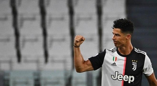 Cristiano Ronaldo foi principal responsável pela conquista do título Italiano