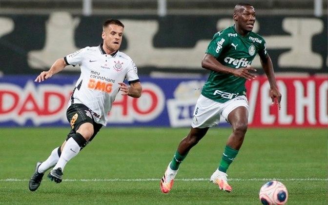 Patrick de Paula é um dos destaques do Palmeiras
