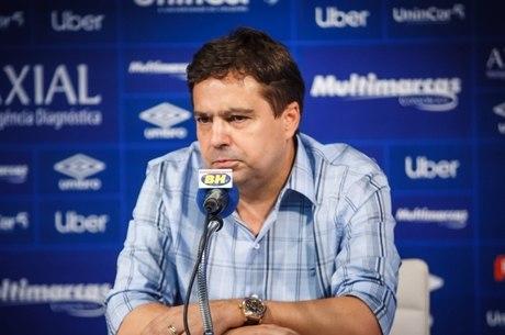 Machado deixou direção da Raposa em 2019