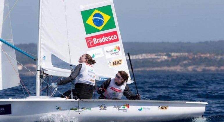 Fernanda Oliveira e Ana Barbachan não conseguiram um lugar no pódio