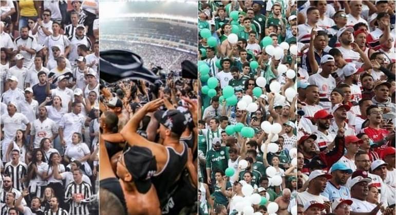 Governo de SP confirma retorno de torcida aos estádios paulistas a partir de novembro