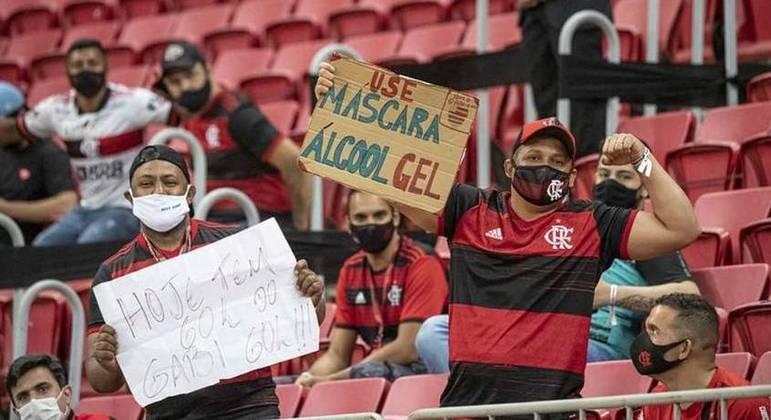 CBF vai recorrer da decisão do STJ de liberar público em jogos do Flamengo