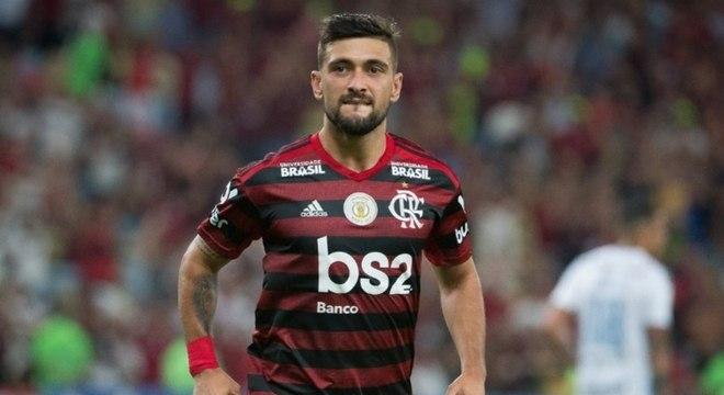 Arrascaeta perderá os próximos jogos do Flamengo