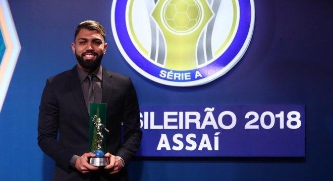 Gabriel Barbosa foi o artilheiro do Brasileirão 2018