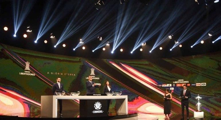 Conmebol realizou o sorteio das partidas das fases preliminares da Libertadores