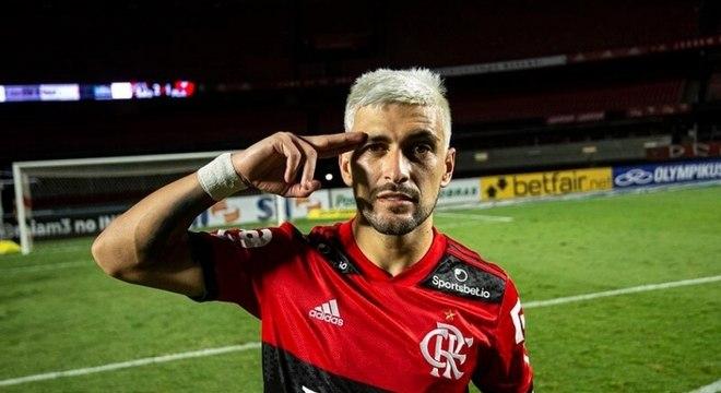 Arrascaeta foi um dos destaques do Flamengo no bicampeonato brasileiro