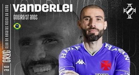 Vanderlei foi contratado pelo Vasco