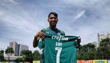 Na mira do Ajax, Rony herda a camisa 7 de Dudu no Palmeiras