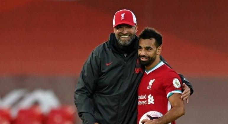 Salah foi campeão da Champions League 18/19
