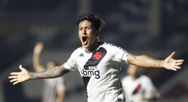 Cano já marcou 29 gols desde que chegou ao Vasco, em 2020