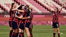 Futebol: seleção feminina dos EUA vence Austrália e fica com o bronze