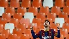 Barcelona anuncia que Messi não continuará no clube