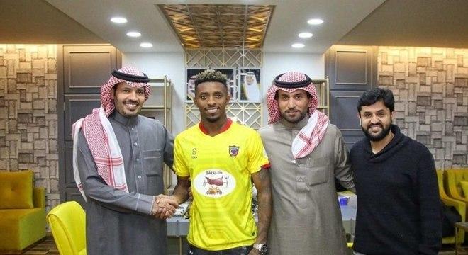 Jonathan Cafu atualmente está jogando na Arábia Saudita