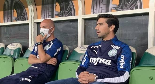 Abel Ferreira fez sua estreia como treinador do Palmeiras nesta quinta