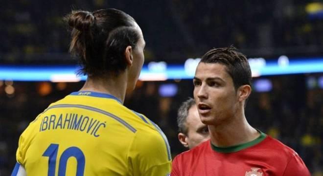Ibrahimovic e Cristiano Ronaldo podem voltar a se enfrentar na Itália