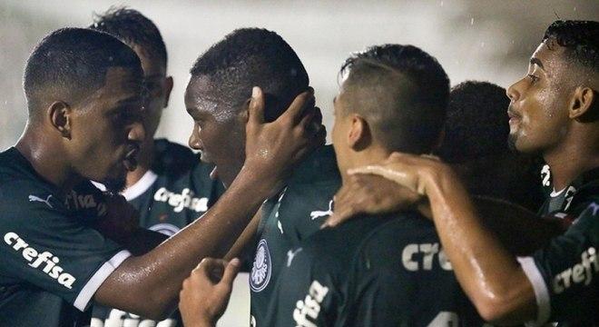 Palmeiras venceu as duas partidas até agora na Copa São Paulo