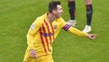 Com show de Messi, Barcelona bate o Athletic Bilbao e entra no G-4 do Campeonato Espanhol