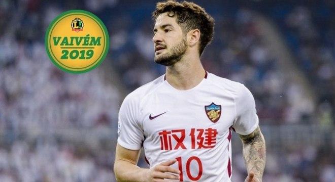 Alexandre Pato está na China desde 2017