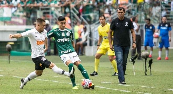 Carille voltou a falar sobre o clássico contra o Palmeiras