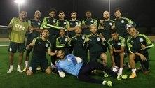 Palmeiras treina pênaltis e encerra preparação para encarar Tigres