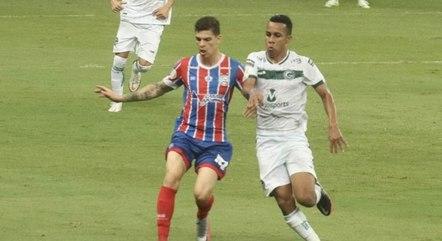 Bahia x Goiás fizeram jogo eletrizante