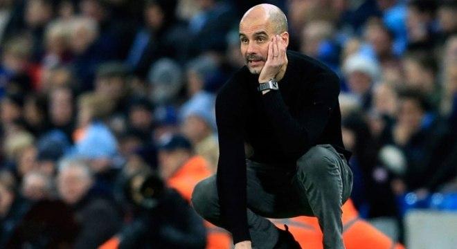 Pep Guardiola recebeu apoio do Manchester City