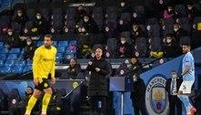 Guardiola diz que Manchester City terá postura agressiva na volta: 'Vamos para Dortmund para ganhar'