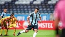 Avassalador, Grêmio goleia por 8 a 0 e segue 100% na Sul-Americana