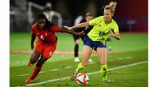 Nos pênaltis, Canadá derrota a Suécia e leva o ouro do futebol feminino nos Jogos Olímpicos